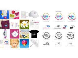 Собрание логотипов и элементов стиля