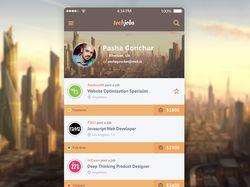 Freelance app iOS