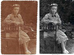 Рестааврация старой фотографии