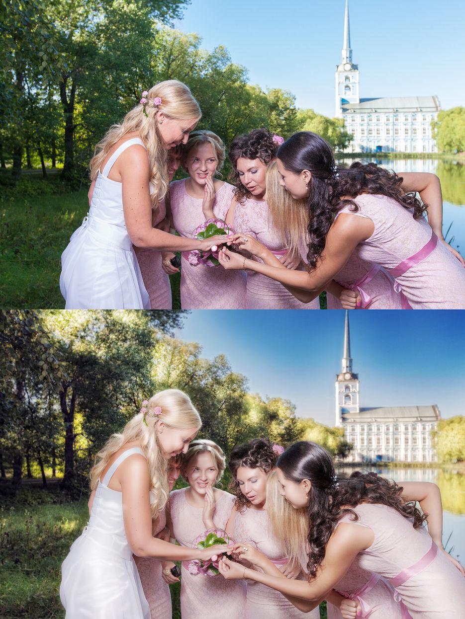 ущи делегировать обработку свадебных фото все-таки