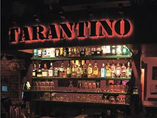 Tarantino dancing/bar/cinema