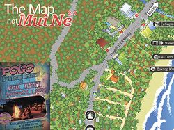 The map not Mui Ne