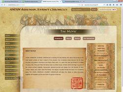 Изменение дизайна на мультиязычном сайте ANDIN ARM