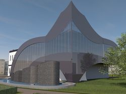 Эскизное предложение музея современных искуств
