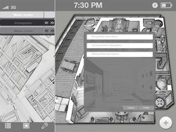 Интерфейс для приложения Ipad