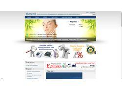 Интернет-магазин косметологического оборудования
