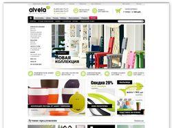 """Дизайн ИМ стильных и качественных вещей """"alvela.ru"""