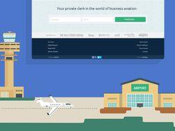 landing page CRM для авиа-брокеров