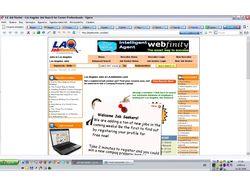 Web проект: lajobhunter.com