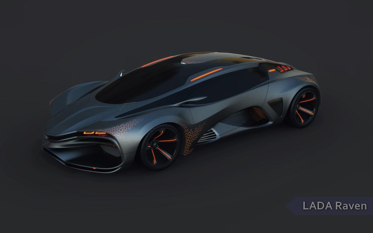 lada raven concept car 2013 тест драйв видео