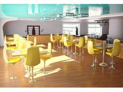 "Дизайн кафе ""Микс"" Желтаая зона"