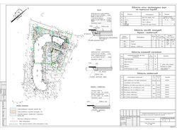 Генеральный план дворовой территории многоэтажного