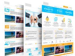 Дизайн B2B медиа сайта