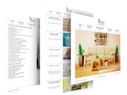 Сайт дизайн-студии интерьеров ES studio