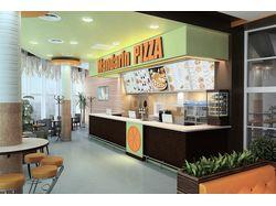 Дизайн интерьера Пиццерии