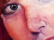 Портрет с шариками