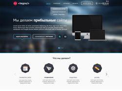 Дизайн сайта Tegos