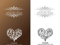 Лого для свадебной студии