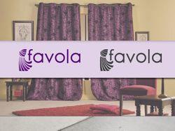 Логотип для студии штор «Favola»