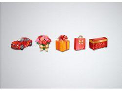 иконки для магазина сувениров