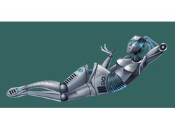 робот вумен