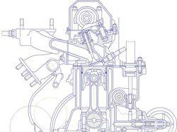 Двигатель ВАЗ-2105