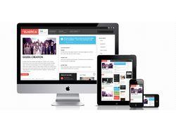 Мобильная и планшетная версия сайта
