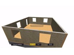 Презентация схемы конструкции дома