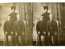 Восстановление старой фотографии