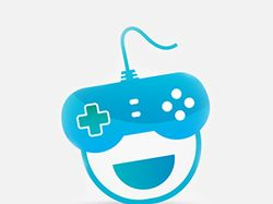 Логотип GameStore для мобильного приложения
