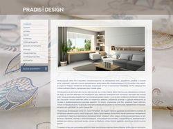 Дизайн сайта для интерьерного салона