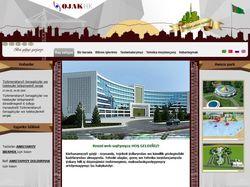 Сайт турецкой строительной компании