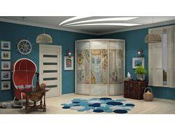 Дизайн радиусных шкафов