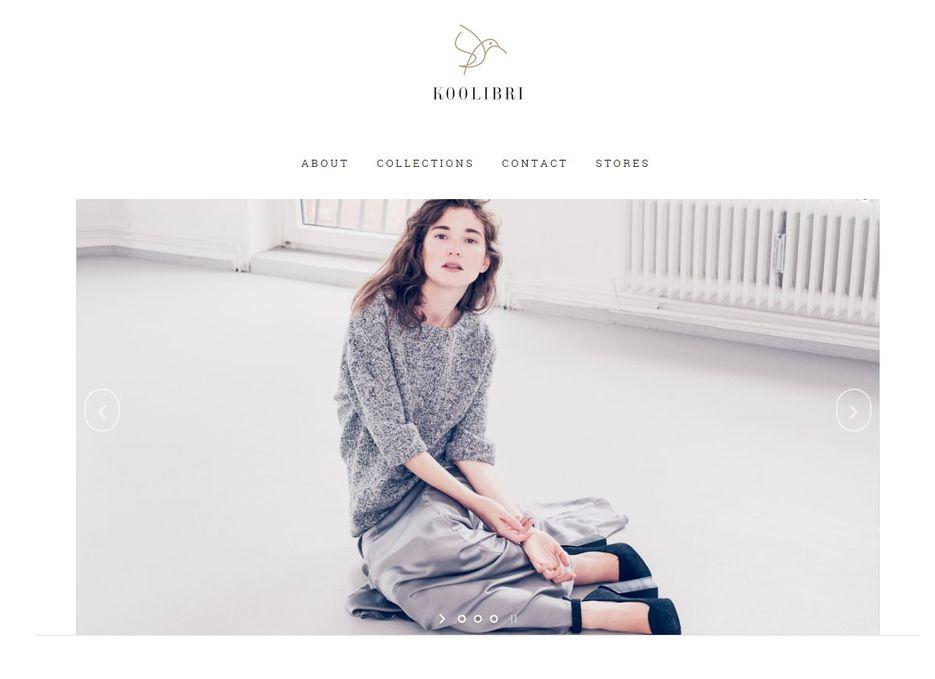 Сайта создателя дизайнерской одежды