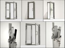 Алюминевые двери