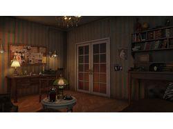 Комната детектива cam01
