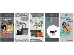 Разработка макета брошюры для магазина аксессуаров