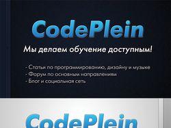 Визитка CodePlein