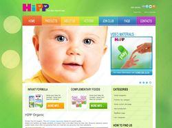 Сайт детского питания