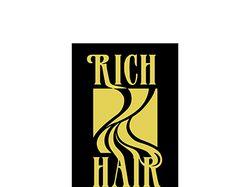 """Логотип компании """"Rich hair"""" (2)"""