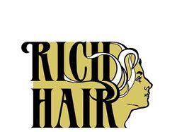 """Логотип компании """"Rich hair"""""""