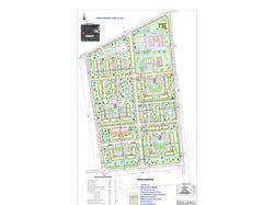 Генеральный план микрорайона города