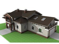 Проект частного дома (Tek)