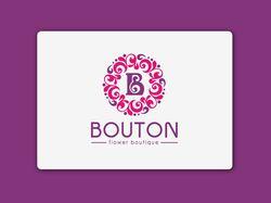 Логотип цветочного бутика