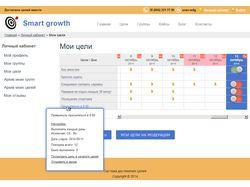 Smart growth - достигайте цели вместе с нами