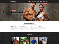 FitnessTime (верстка)