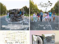 Создание обложки CD