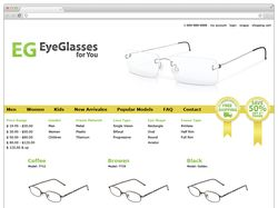 Web Site EG Eye Glasses
