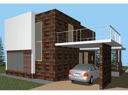 Проект дома (Архитектурный, Эскизный)