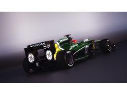 Formula 1 3d Caterham CT 03